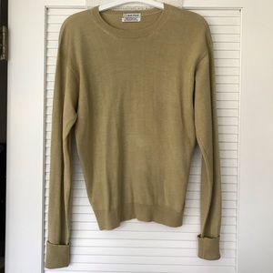 CALVIN KLEIN Cashmere & Silk Sweater EUC!